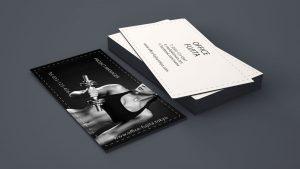 ブランディング_フィットネス_ビジネスカード